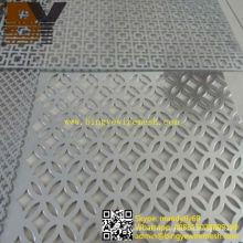 Feuille métallique perforée en aluminium revêtue de poudre