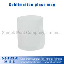 11oz Sublimation Blank Frosted Glass Mug