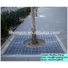 Galvanized steel grating,steel grating for tree