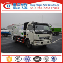 8cbm Dongfeng dfac camión de compactación de basura usada