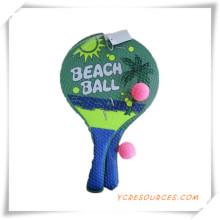 Werbegeschenk für hölzerne Strand Schläger und Ball-Set (OS05002)
