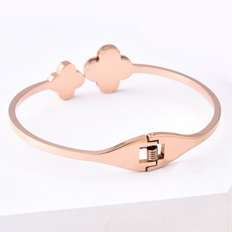 Ladies Rose Gold Bracelet