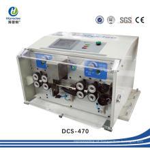 Máquina automática do cortador dos cabos da bateria da precisão, o mais melhor descascador do fio