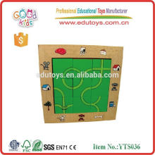 Wood Educational Puzzle Toys For Kids Maze Puzzle