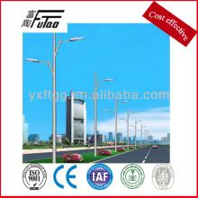 galvanized steel road lamp post