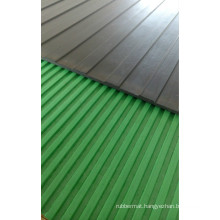 Round Stud Rubber Sheet, Ribbed Rubber Roll Floor
