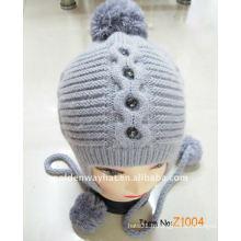 Bonnet de bonnet d'hiver de mode faisant un chapeau en tricot