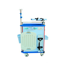 Chariot d'urgence pour équipement médical ABS
