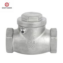 Válvula de retenção giratória para água