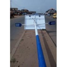 Carcaça de alumínio fundido Split Led solar poste