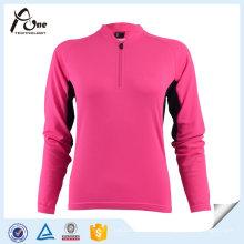 Mulheres respirável soft jaqueta desporto design ciclismo desgaste