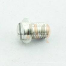 Gewinde gedrehte Aluminiumteile (MQ647)