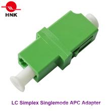 LC Simplex Singlemode APC Standard Kunststoff Faseroptik Adapter