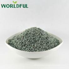 Forma de roca verde natural de la zeolita saltada para la agricultura Relleno de fertilizante de la acuacultura orgánica