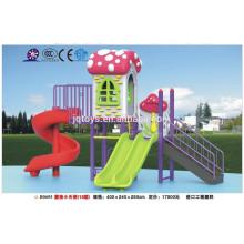 B0695 детского сада мебель Hotsale детей Открытый Пластиковые гриб площадка Установить малыша пластиковые площадка слайд парк