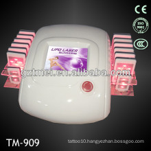 14 pads cold lipo laser slimming machine for home use