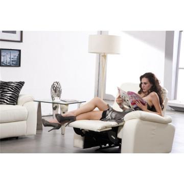Sofá elétrico reclinável EUA L & P sofá do mecanismo para baixo do sofá (636 #)