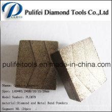 Большой Размер Алмазной Пилы Зубов Абразивной Резки Сегмента Камнем