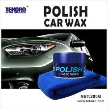 Специальный польский автомобильный воск с тканью из микрофибры
