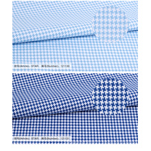 Высокая мода хаундстут 100% хлопок ткань рубашки гл для мужчин