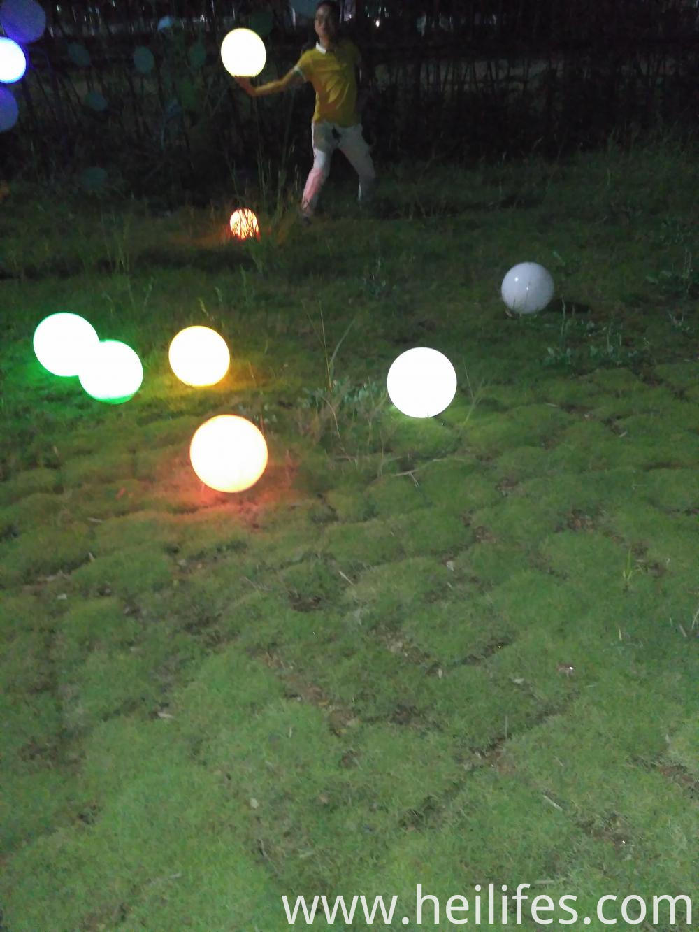 Solar LED Lawn Lighting ball lamp