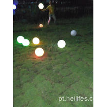 12 polegadas Flutuante LED Pool Glow Ball Outdoor Decor