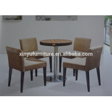 Solid wood restaurant coffee table and chair set XYN929