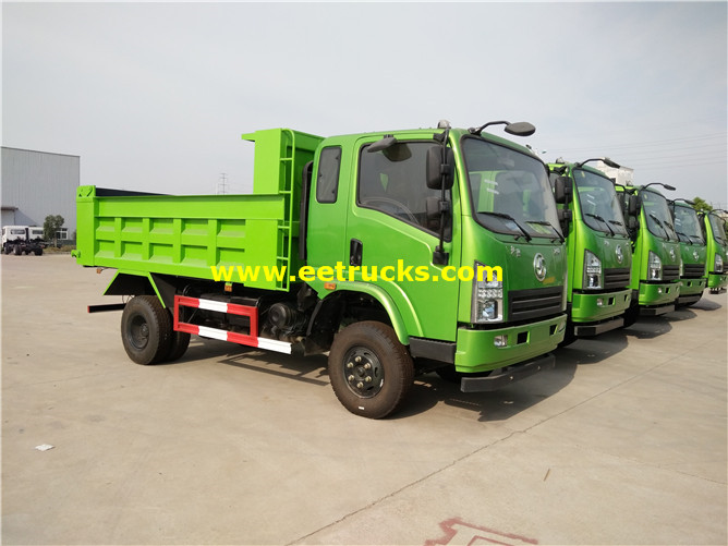 4x2 Off Road Tipper Trucks