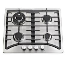 Cast Iron Pan Supporter Built in Gas Cooker with 4 Burner