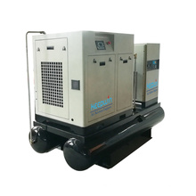 10HP 190psi mounted refrigerate air dryer 300L air tank Rotary Screw Air Compressor