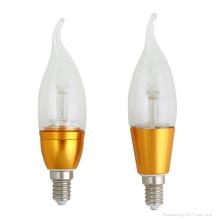 Dimmabel 3W LED Candle Light lampe LED