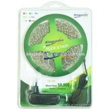 Blister Pacote RGB5050 5M LED tiras flexíveis