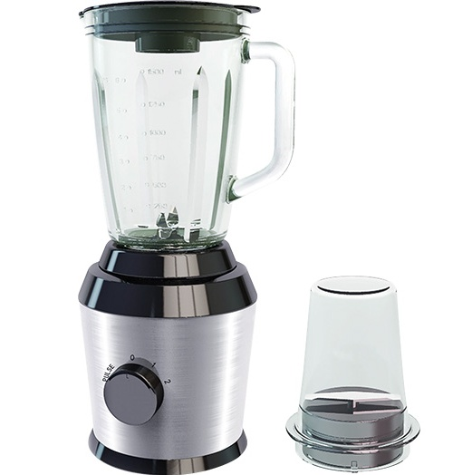 high power glass food blenders for crushing ice