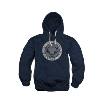 TENPOINT - LOGO ROUND HOODED SWEATSHIRT