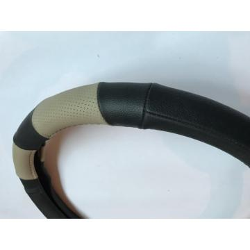 Auto real leather steering wheel cover
