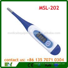 MSL-202 Thermomètre numérique / électronique à pointe flexible