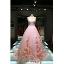 1A416 Lolita flores rosa vestido de boda fabricantes de los EE.UU. vestido calidad real cuadro