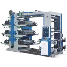 Máquina de impresión offset Flexo de 6 colores