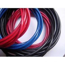 Rop de fio de aço galvanizado revestido de PVC