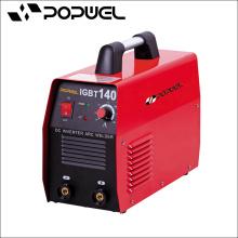 Máquina de soldadura de ponto de alta qualidade DC Inverter ARC máquina de soldadura Popwel MMA IGBT 140