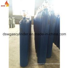 Cylindre de gaz O2 avec couleur bleue