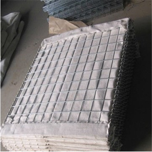 Flood control hesco wall