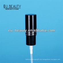 18/415 schwarz Fine Mist Sprayer mit Aluminiumkappe