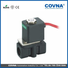 2 way 2 position plastic steel type normal close join connector solenoid vale