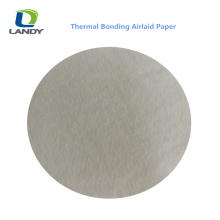 SOFT HIGH ABSORBENCY RAW MATERIALS AIRLAID PAPER EMBOSSED AIRLAID PAPER