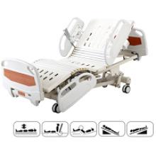 Fünffunktions-Krankenhaus-Ausrüstung justierbares elektrisches Krankenhaus-Bett ICU