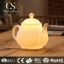 Morden chinese tea pot shape ceramic table lamp on promotion