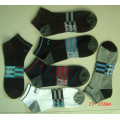 Spandex polyester chaussettes Sport Mens