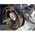 """10"""" reboque travão eléctrico placa traseira"""