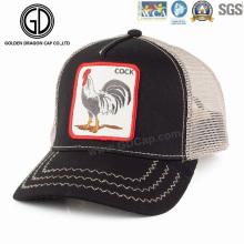 2016 Fashion Trendy Animals Pattern Embroidery Badge Trucker Hat